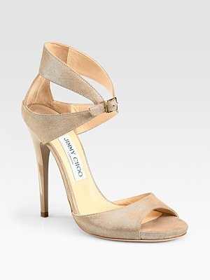 beige jimmy choo shoes