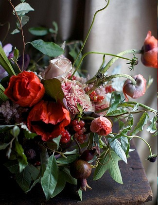 berry wedding centerpiece ideas