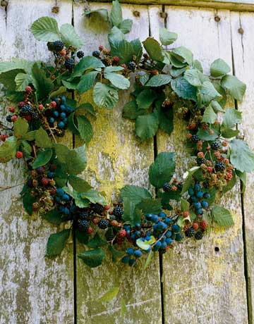 berry wreath project