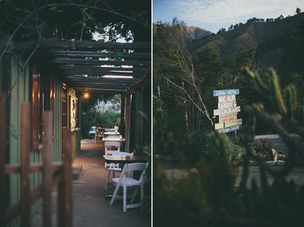 Big Sur Cafe Wedding