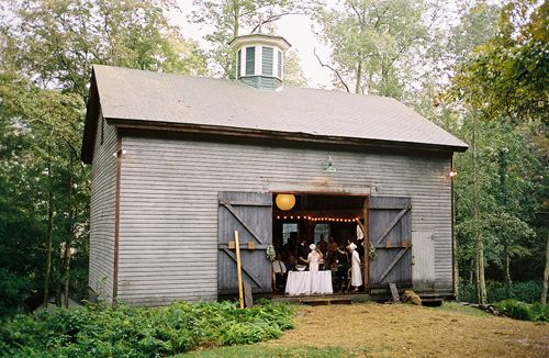 brown barn wedding venue