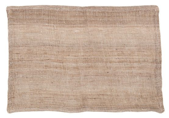 brown linen fabric