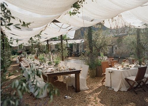 castle in sky outdoor wedding