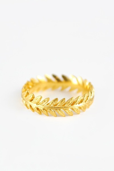 gold leaf band