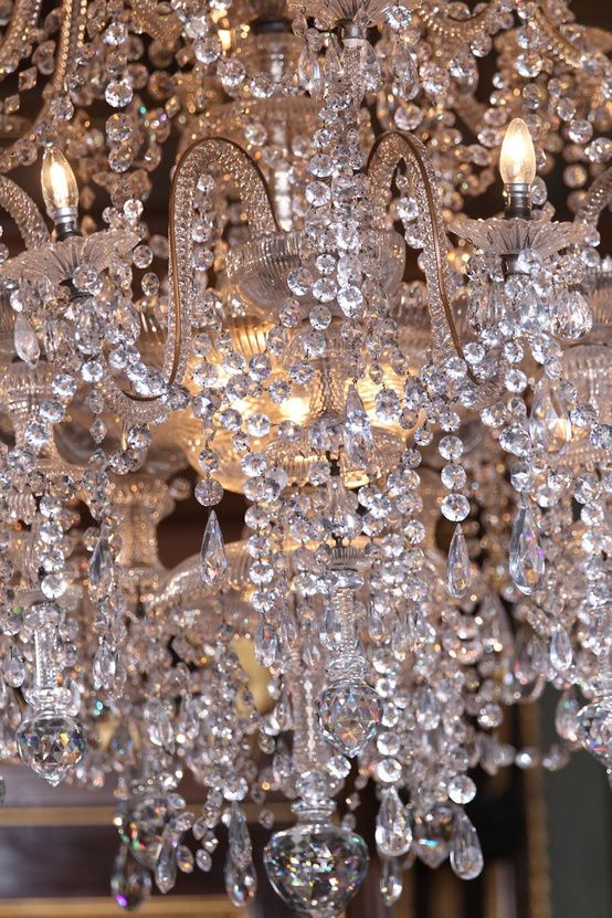 chandelier elegant clear