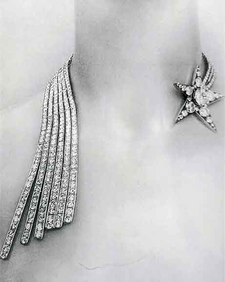 chanel jewelry diamond necklace