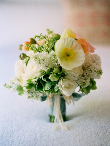 Citrus Bridal Bouquet