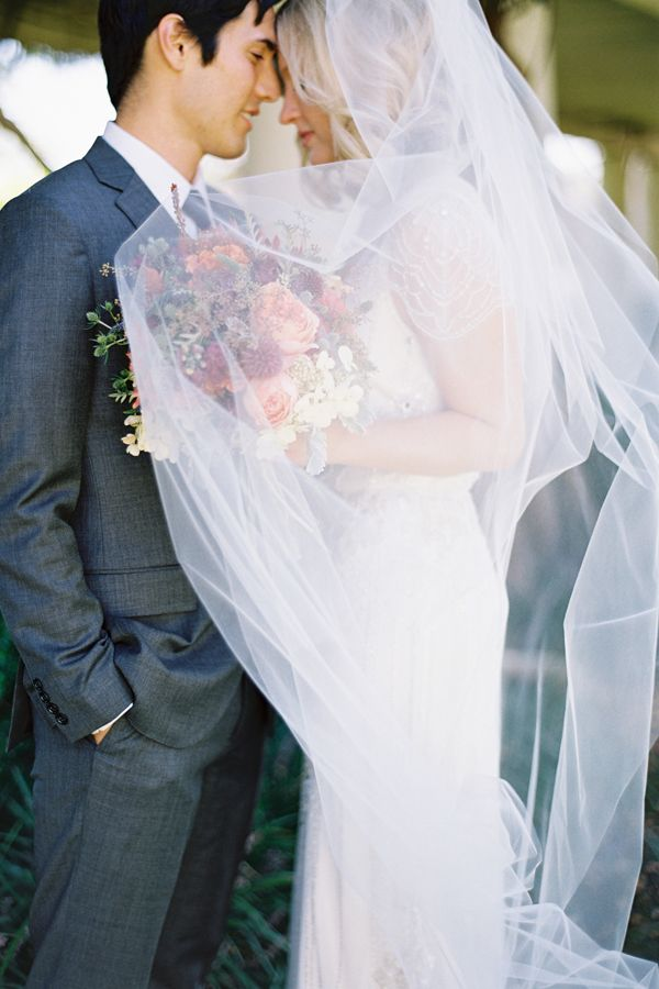 Classic Long Wedding Veil