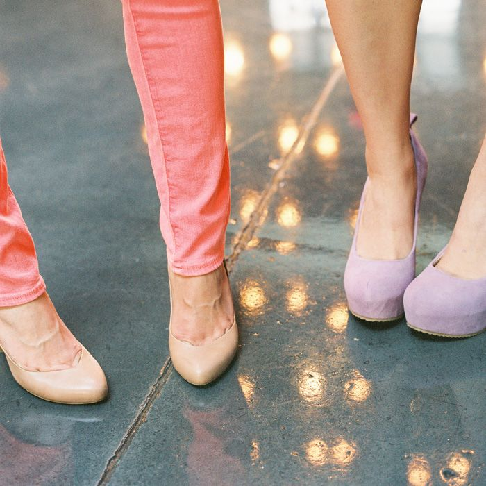 color pastel wedding shoes
