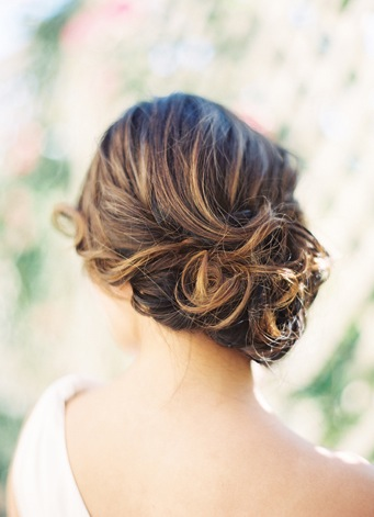 country wedding hairstyle