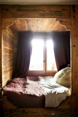 cozy bed nook fall