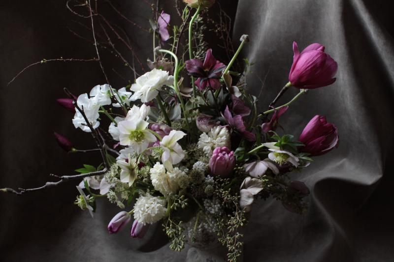 dark-pink-wedding-centerpiece-ideas