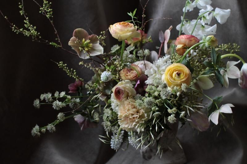 dark wedding centerpiece ideas