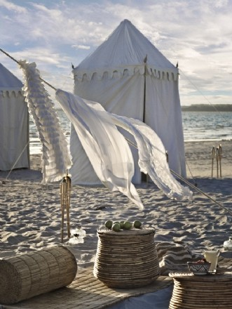 daughters of poseidon tent beach