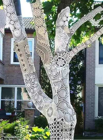 delightful doily tree