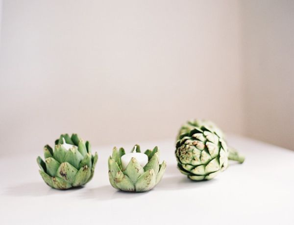 diy candle wedding ideas artichoke