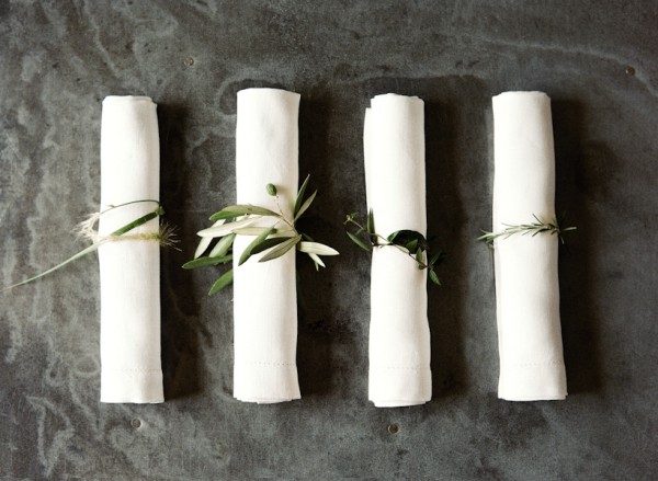 DIY Rustic Wedding Napkin Rings Once Wed