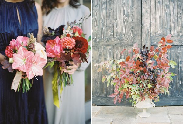 Elegant Fall Wedding Bouquets