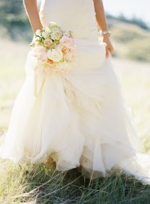elegant field bouquet