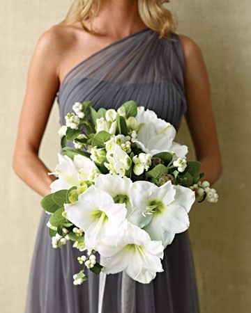 Elegant White Flower Bouquet