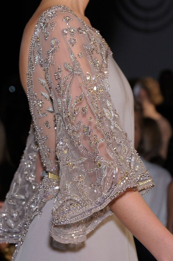 elie saab sparkle dress
