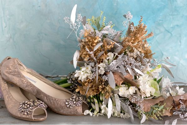 Embellished Bouquet Gold