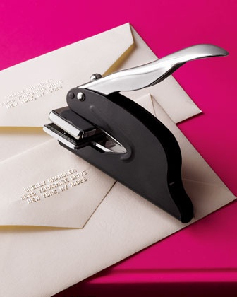 embossed invite diy