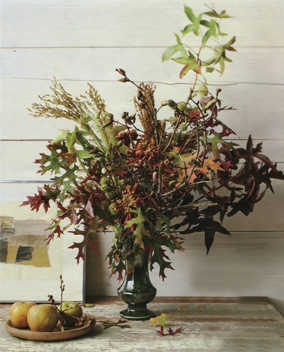 fall-leaves-wedding-centerpiece