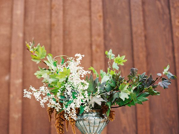 Foraged Fall Wedding Flowers