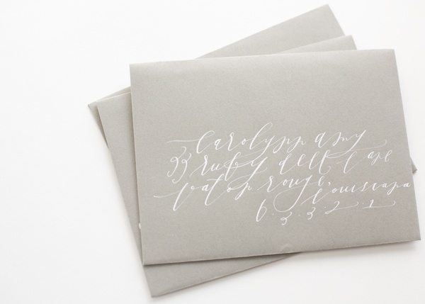 feast calligraphy gray white
