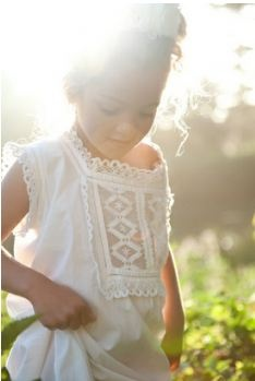 flower girl casual dress