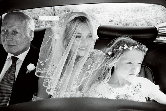 flower girl kate moss halo
