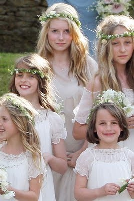 flower girls kate moss wedding