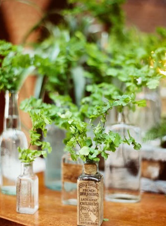 foundry wedding greenery decor