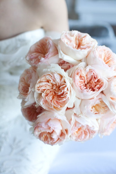 Full Pink Peony Bouquet
