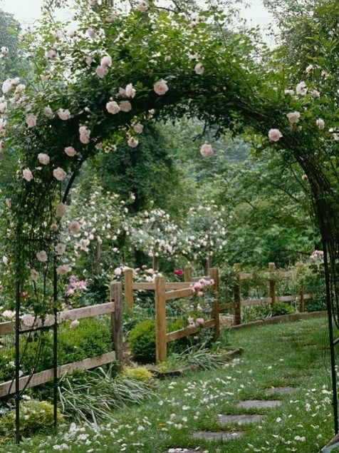 garden arch wedding ceremony decorations