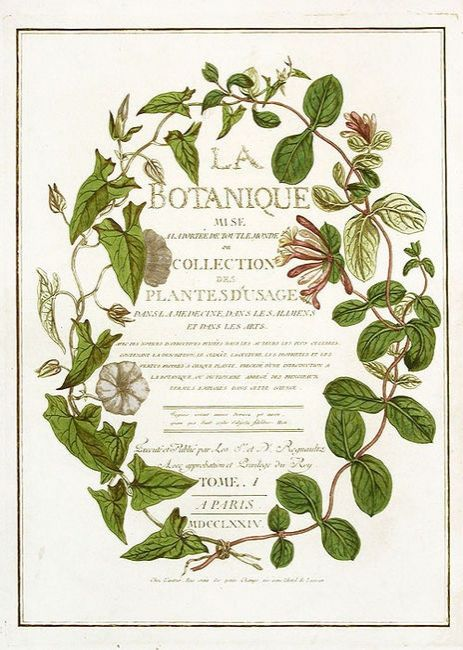 garden wedding invitation antique