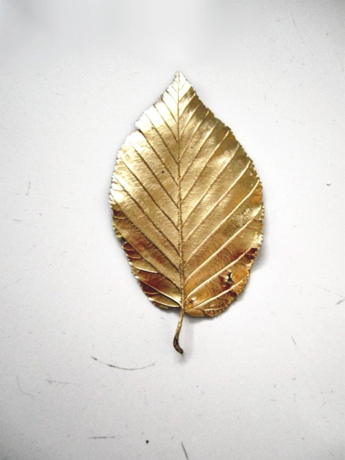 gold leaf paint