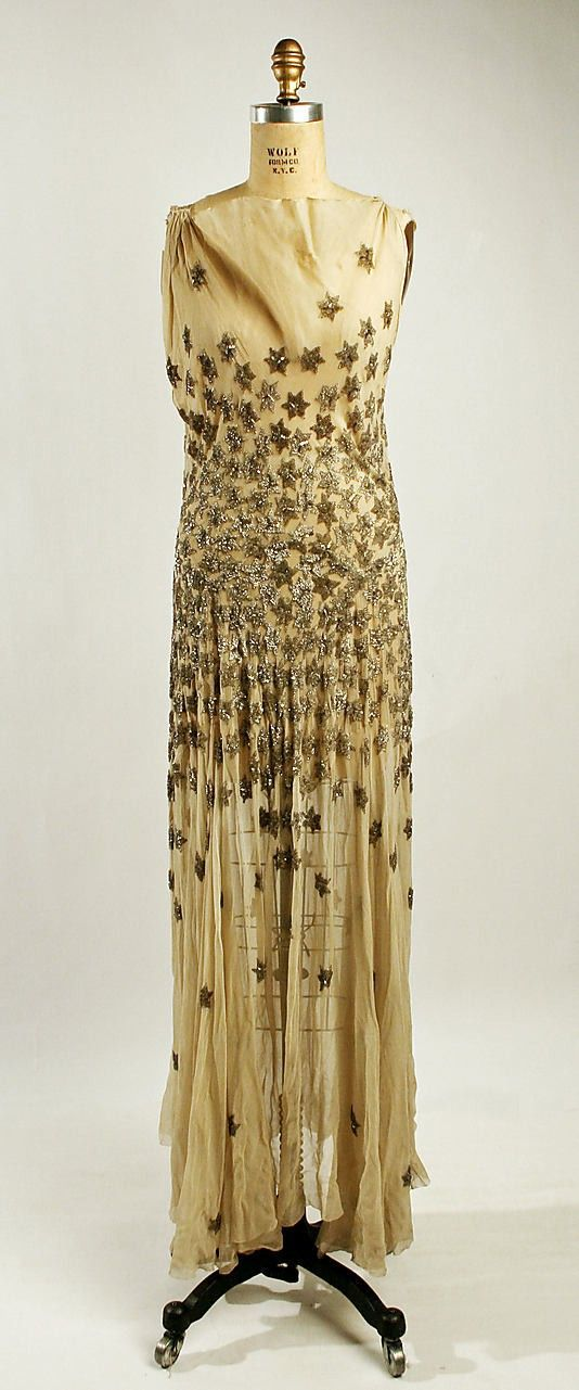 gold ornate gown