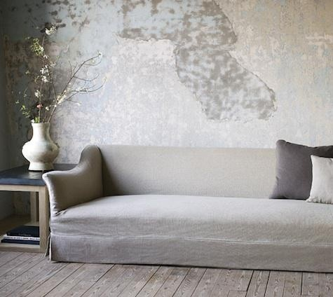 gray couch wall interiors