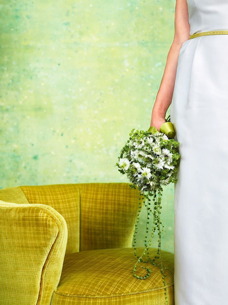 Green Bead Bouquet