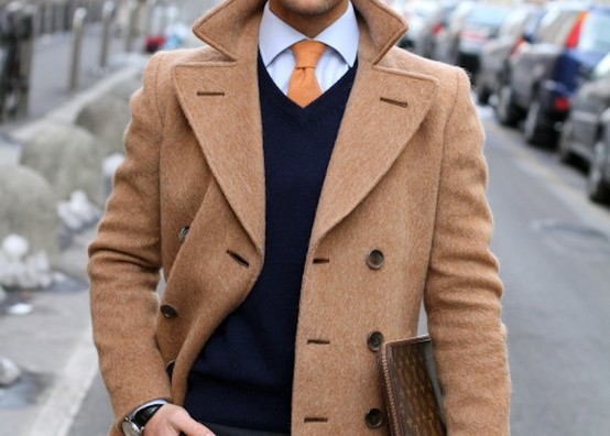 groom coat camel