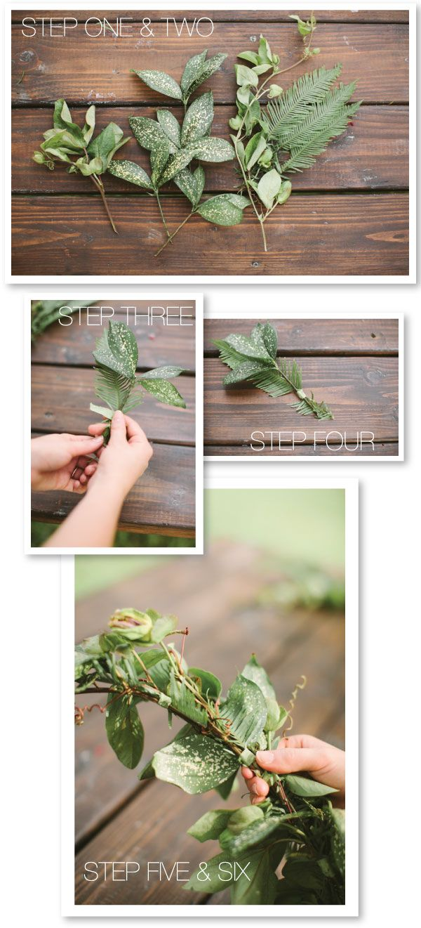 how to make a wedding garland