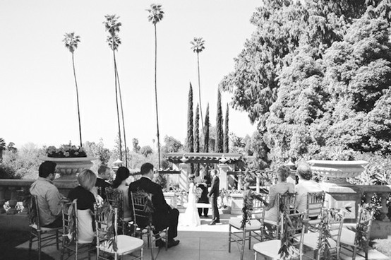 intimate santa monica wedding