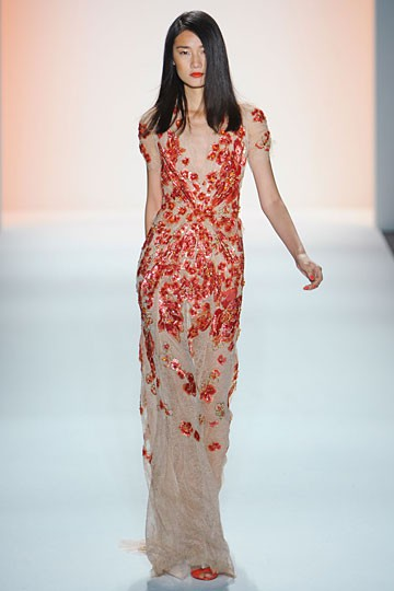jenny packham floral red