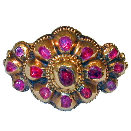 jewelry ruby purple