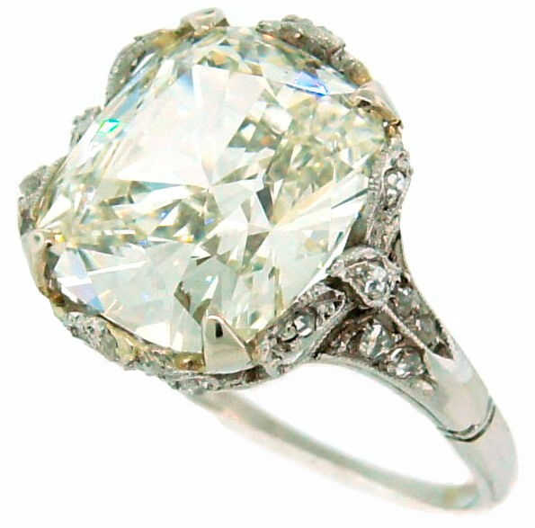mint diamond ring