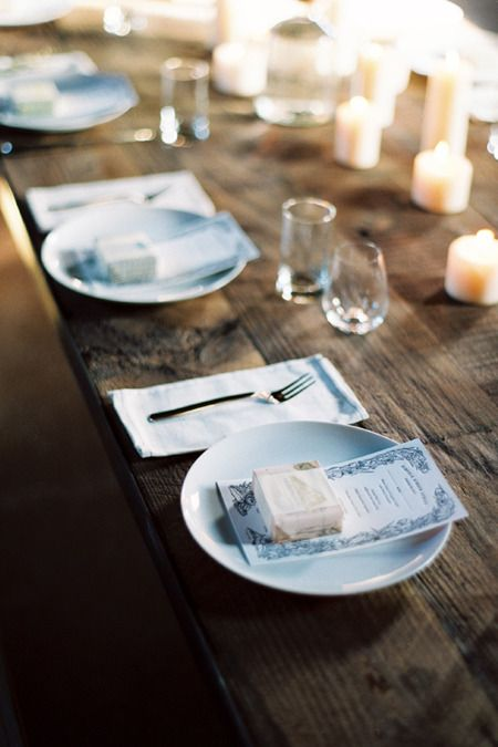 kinfolk dinner candles