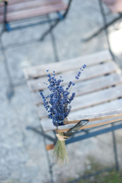 lavender chair markers