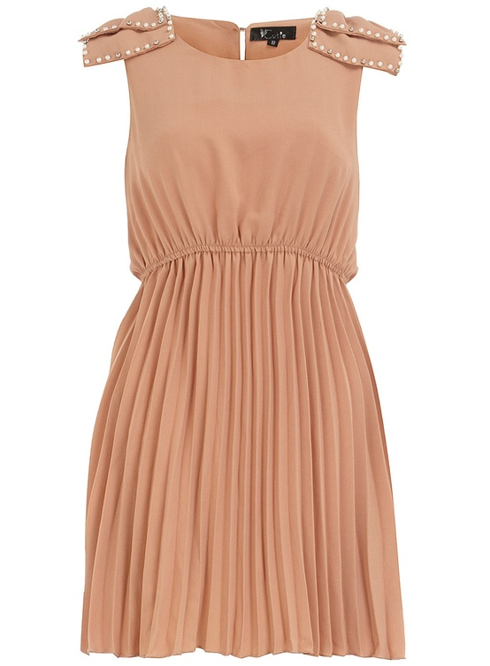 light brown bridesmaid dress